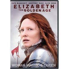Cate Blanchett, amazing as Queen Elizabeth.