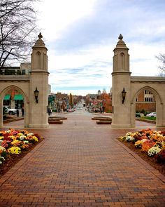 Sample Gates at Indiana University in Bloominton, IN