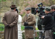 Downton Abbey Season 5: Behind the Scenes shooting