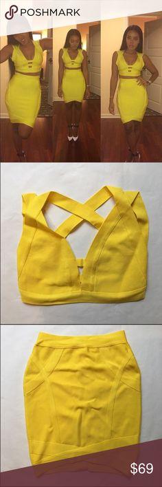 ▪️Luxe Bandage Skirt Set ✨Luxe Bandage Skirt Set ShopChloeJean.com Skirts Skirt Sets