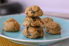 These gluten free quinoa flour cookies are a healthy twist on a traditional chocolate chip cookie. They're soft, chewy, & delicious!