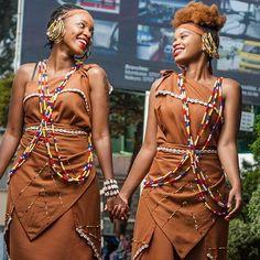 Kikuyu people of Kenya - Page 25 Kenyan Wedding, African Wedding Attire, African Attire, African Wear, African Women, African Dress, African Fashion, Women's Fashion, African Traditional Dresses