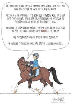 horseish:    oh thanks God horses don't talk.