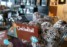 Chokladbollar - Schokoladenballen - Hej Sweden  #Schweden