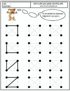 Shape Tracing Worksheets, Color Worksheets For Preschool, Preschool Colors, Preschool Learning Activities, Preschool Education, Kindergarten Writing, Kindergarten Worksheets, Preschool Activities, Coding For Kids