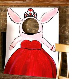 Olivia the Pig in Red, Black, & White Birthday Party Ideas | Photo 17 of 36 | Catch My Party