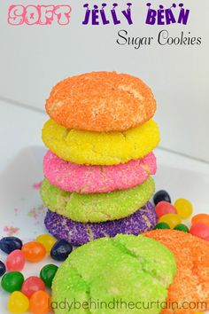 Simply the best cookies.  A soft sugar cookie with a burst of fruit flavor.  Perfect for your Spring celebration.
