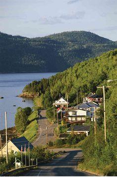 L'Anse-Saint-Jean, au Saguenay. (Photo: A. Biscaro/Masterfile)