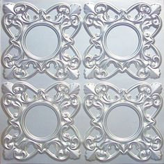 "Discounted Faux Tin Silver Ceiling Tile,# 133 Can Be Glue On,staple On,tape On,nail On! Clean Smooth Flat Surface, Also Can Glue Over Popcorn Pvc 24""x24"" with Overlaping Edges Suspended ceiling,faux Tin ceiling,decorative tile http://www.amazon.com/dp/B0016CRJLE/ref=cm_sw_r_pi_dp_Ze4mwb1Q29Q2R"
