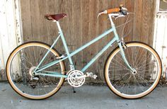 Rivendell Betty Foy (the lugging on this bike is mesmerizingly amazing!)