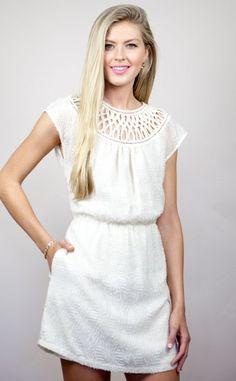 Greylin   Crochet Dress