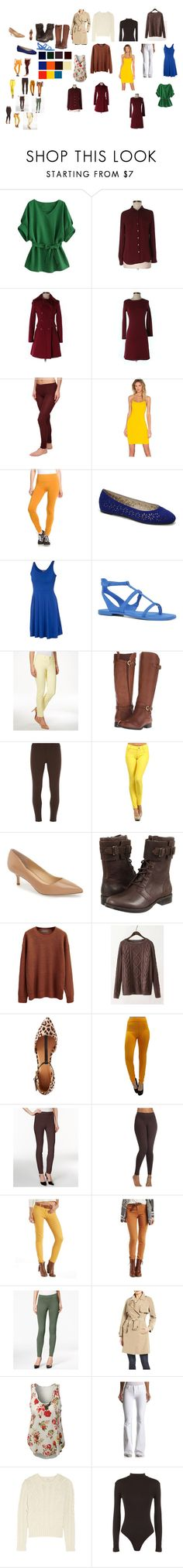 Draft by hind-arradi on Polyvore featuring Donna Mizani, ibex, ASOS, Carven, LOFT, Madewell, Kenneth Cole Reaction, Hudson Jeans, Charter Club and Style & Co.