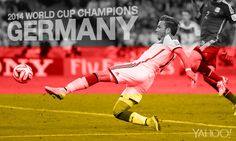 Thanks to a brilliant goal from Mario Goetze, Germany are the 2014 #WorldCup champions.