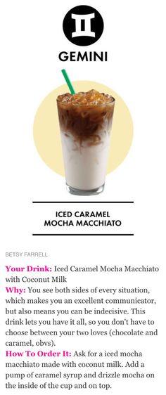 Starbucks secret menu drink recipe - Iced caramel mocha macchiato