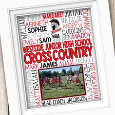 Cross country gifts! ‍♀️❤️ Customized and personalized for your team or coach!
