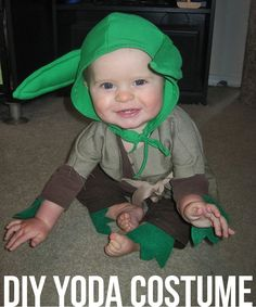 Make a Yoda Costume  this is a yoda costume??