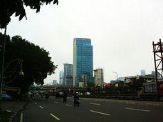 Depan SME building, Gatot Subroto, Jakarta Selatan
