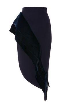 Carmin Peplum Skirt by Leal Daccarett Diana Fashion, Quirky Fashion, Mode Outfits, Skirt Outfits, Peplum Skirts, Climbing Outfits, Jupe Short, Disney Inspired Fashion, Fashion Details