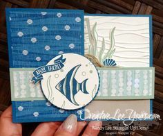 Double Z Seaside Shore by Wendy Lee, Seaside Shore stamp set, Stampin Up, stamping, hand made card, #creativeleeyours, July 2016 FMN class - SU - Hardwood, Seaside Shore