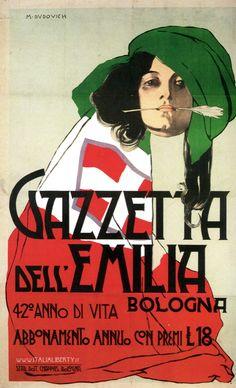 Vintage Italian Posters ~ www.italialiberty.it