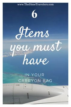 Items you must have in your carryon bag - never get stranded again, make sure you have these items with you next time you travel! Travel Items, Travel Gadgets, Travel Products, Packing List For Travel, Packing Lists, Budget Travel, Cute Backpacks For Traveling, Romantic Getaways, Travel Advice