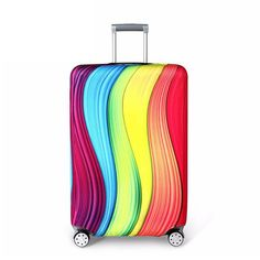 Rose Gold Leaf Pattern Traveler Lightweight Rotating Luggage Cover Can Carry With You Can Expand Travel Bag Trolley Rolling Luggage Cover