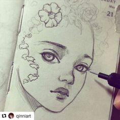 Sketch by @qinniart