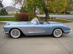 1958 corvette/Dream car