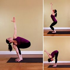 Leg-Strengthening Yoga Sequence For Skiers and Riders:    Whether you click into skis or a snowboard, a strong yet flexible lower body will allow you to cruise down the mountain with control, helping you stay balanced rather than wiping out. This eight-posture lower body sequence focuses on strengthening the core, quads, and glutes, while opening the hamstrings and hips.