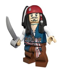 LEGO® Pirates of the Caribbean™ : Jack Sparrow