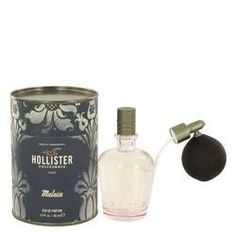 Hollister Malaia Eau De Parfum Spray By Hollister. Hollister Malaia Perfume by Hollister, Spritz on hollister malaia from hollister for an easy yet intoxicating scent that is sure to make a lasting impression. This fresh fragrance combines garden notes of basil with sweet lavender and sultry vanilla for an intoxicating scent light enough to wear at the office but bold enough for date night at the newest restaurant. Introduced in 2014, this long-lasting scent is the perfect fragrance for…