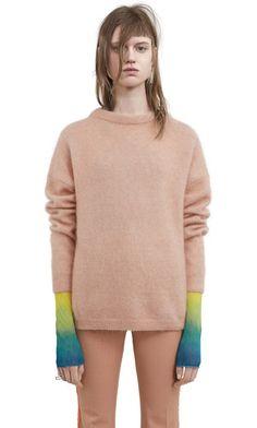 Acne Studio - Dramatic Moh, Pink Melange, 301x