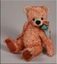 'Ruben' was created by UK artist Paula Carter  www.onemorebear.co.uk    Bearing All #teddy #bear #artist #Paula Carter