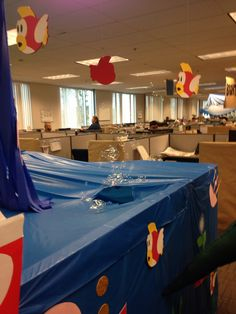 Water level Office Halloween Costumes, Halloween 2014, Brother Birthday, Super Mario Bros, Party Ideas, Table Decorations, Water, Wedding, Furniture