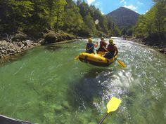 Klar - Glasklar - Salza Rafting, Golf Courses, Tours, Deep, Adventure, Beautiful, Outdoor Adventures, Trench, Campsite