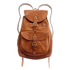 madewell leather railway rucksack Still want one. Vintage Leather Backpack, Brown Leather Backpack, Leather Bags, Leather Backpacks, Real Leather, Soft Leather, Luxury Diaper Bag, Vintage Backpacks, Brown Bags