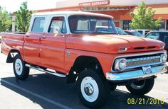 I need this to pull my vintage camper and its a Chevy so the hubby would not complain. 1964 Chevrolet Crew Cab 4X4