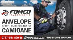 Fomco Truck Service îți pune la dispoziție anvelope Bridgestone, Firestone și Dayton, pentru toate tipurile de camioane!  Contactează-ne acum la numărul 0737-551.829 Pune, Fictional Characters, Fantasy Characters