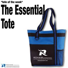 #RohamInt #ToteoftheWeek– The Essential Tote!  A great tote is the perfect product for those special clients or events and the Essential Tote is a winner!  #PromotionalProducts #Branding #CustomizedMarketing #Promos #PromotionalToteBag #CustomToteBag #BrandedToteBag #BrandedCustomBag #Tote #BrandedBag #TradeshowPromotionalProducts #CustomPromotionalProducts #BrandedMarketing