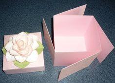 Papercrafts Love Affair: Scrapbook in a Box