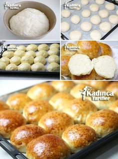 Kahvaltılık Yumuşak Ekmek Tarifi Bread And Pastries, Food Art, Brunch, Food And Drink, Cooking, Breakfast, Desserts, Sweet Bread, Breads