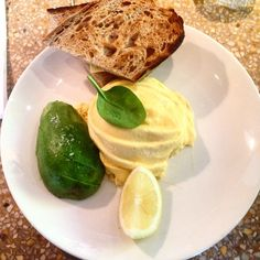 Lunch at Granger&co #avocado#scrambled#eggs, London