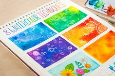8 Watercolor Techniques for Beginners – Indie Crafts