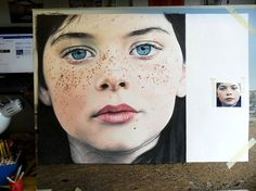No Words For These Real Paintings Look Like Photographs???Amy Robbins – colored pencil drawing on paper.
