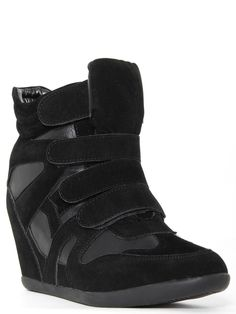 Velcro #Wedge #Sneakers