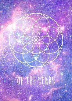 Seed of Life Art Print Sacred Geometry Art, Sacred Art, Spiritual Awareness, Spiritual Guidance, Spiritual Growth, Spiritual Awakening, Universe Love, Seed Of Life, Spiritual Background