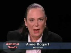 Women in Theatre: Anne Bogart, Director fascinating conversation into women in theatre, the sensibility of women directors, the stage craft and method of working with actors - a powerful voice to the theatre.