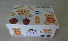 Caixa remédio - www.elo7.com.br/esterartes