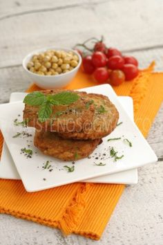 Chick Pea Fritters from Rhodes Greek Recipes by Diane Kochilas Greek Recipes, Vegan Recipes, Vegetarian Tapas, Eat Greek, Brunch Recipes, Fun Recipes, Recipies, Greek Cooking, Savory Breakfast