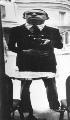 Henri Cartier Bresson - Self Portrait